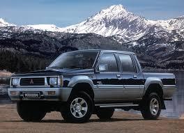 Mitsubishi pickup truck celebrates its 40th birthday