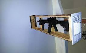 Hidden Gun Coat Rack Hidden Gun Storage Ideas And DIY Projects 75