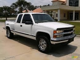 1998 Summit White Chevrolet C/K K1500 Silverado Extended Cab 4x4 ...