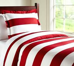 rugby stripe duvet cover quilt pottery barn