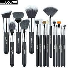 jaf brand 15 pcs set makeup brushes 15 pcs make up brush set high quality