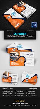 Car Wash Visiting Card Design Car Wash Business Card Template Psd Download Letterpress