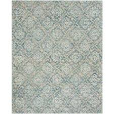 abstract blue gray 8 ft x 10 ft area rug