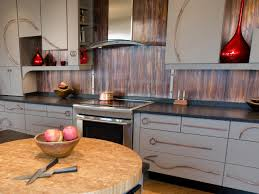 Old Metal Kitchen Cabinets Metal Backsplash Ideas Pictures Tips From Hgtv Hgtv