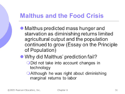 chapter production ppt video online  malthus and the food crisis