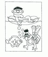 Kids N Funde 12 Ausmalbilder Von Sesamstrasse Ernie Und Bert
