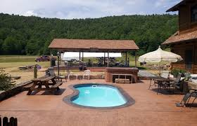 patio with pool. Outdoor Patio And Backyard Medium Size Cool Pool Patios With Stamped  Concrete Ideas For In Patio With Pool