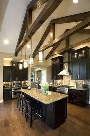 kitchen lighting vaulted ceiling kimberly ann homearama photo gallery homearama builder cincy tri best lighting for cathedral ceilings