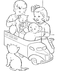 Small Picture Girl Teddy Bear Coloring Pages For ToddlersTeddyPrintable