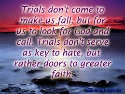 Trials | Quotes Frenzy via Relatably.com