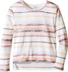Amazon Com Splendid Littles Girls Chalk Stripe Sweater