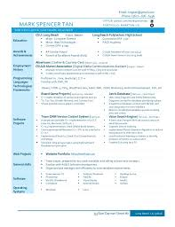 Software Engineer Resume Unique Mark Software Engineer Resume