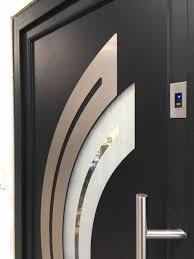 porte d'entrée aluminium de pologne aliplast,porte d'entre avec ouvrant achée panel doors de pologne
