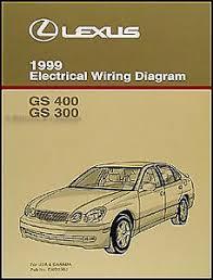 1999 lexus gs 300 400 wiring diagram manual new gs300 gs400 original image is loading 1999 lexus gs 300 400 wiring diagram manual