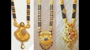 Nallapusalu Locket Designs Latest 22k Gold Mangalasutra Designs Latest South Indian Jewellery