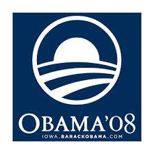 Obama 08 vector logo free