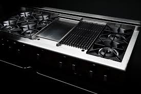 gas stove top with griddle. Capital Culinarian 60\u0027\u0027 Range CGSR604GB2 Gas Stove Top With Griddle, Grill And BURNERS Griddle