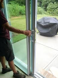 how to remove sliding patio door panel stacking panels when not in use remove fixed panel