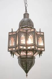 large moroccan star shaped light pendant 3