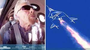 Virgin Galactic launch: Richard Branson ...