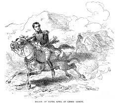 antonio lopez de santa anna on a horse. Simple Horse 1847 Photograph  Antonio Lopez De Santa Anna By Granger To On A Horse