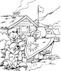 Small Picture Campfire 9 Nature Printable coloring pages