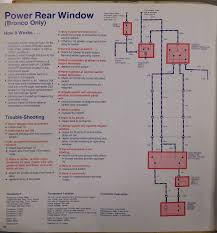1980 1996 ford bronco tailgate window motor broncograveyard com Bronco Rear Window Regulator at Wiring Diagram For Rear Window Full Size Bronco