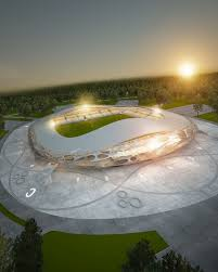 Ofis Sport Futball Stadium Pc Bate And Government Of Belarus Architects Ofis