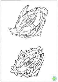 Pegasus Beyblade Colouring Pages For Boys Japanese Anime Coloring