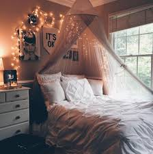 cute bedrooms. Plain Bedrooms This Room Seems So Cute And Comfy The Hanging Canopy Strung With Twinkling  Lights Makes For A Glistening Magical Mood To Cute Bedrooms