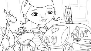 Small Picture Disney Doc Mcstuffins Halloween Coloring Pages Coloring Coloring