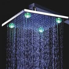 Buy <b>Multicolor Led</b> Shower Head System | Ceiling Shower Heads