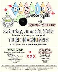 Bowling Fundraiser Flyer Template Fresh Spaghetti Dinner Fundraiser