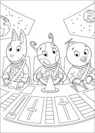Kleurplaat Backyardigans Backyardigans Coloring Pages Cool
