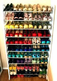 small closet shoe storage ideas organization for closets organizer shelf case