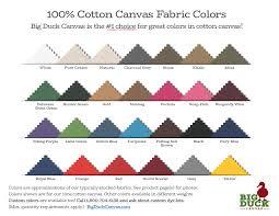 10 Oz Cotton Canvas Colors Vat Dyed Colors In 10oz Cotton Duck