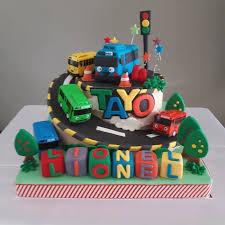 Jual Kue Ulang Tahun Kue Tayo Birthday Cake Kue Fondant Dki
