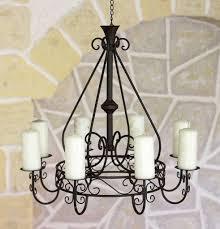 Dandibo Kronleuchter 101318 Kerzenhalter D 60 Cm Kerzenständer Hängeleuchter Aus Metall
