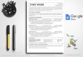 Resume Template Toby Webb