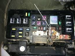 honda pilot fuse box location wiring diagram sys