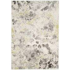 watercolor 7 x 9 area rugs the home depot regarding gray and yellow rug remodel 8