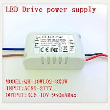 1 5 10pcs Isolated <b>900mA 10W Led</b> Driver 2X3W 3X3W AC 110V ...