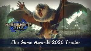 Monster hunter rise arrives on nintendo switch, breathing new life into the genre! Monster Hunter Rise The Game Awards 2020 Trailer Youtube