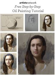 steps to oil portrait paintings oil painting for beginners the ultimate free guide