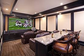 home theater room ideas home theater traditional with ceiling lighting dark trim image by john kraemer sons
