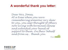 Thank You Letter For Donations Gorgeous How To Write A Killer Thank You Letter