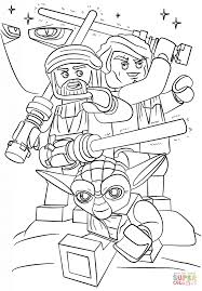 Lego Star Wars Coloring Pages Printable Coloring Page For Kids