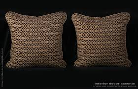 Elegant Home Decor Accents Pindler Newport Mansions Collection Two Decorative Pillows 95