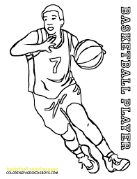 basketball coloring page 49 with basketball coloring page coloring book