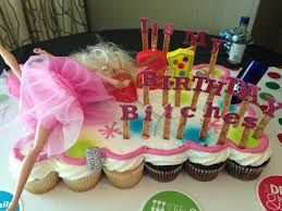 Cupcakes Barbie Design Pin On Cool Cakes